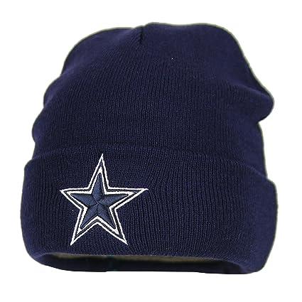 e05a759c Dallas Cowboys Basic Knit Hat (Navy)