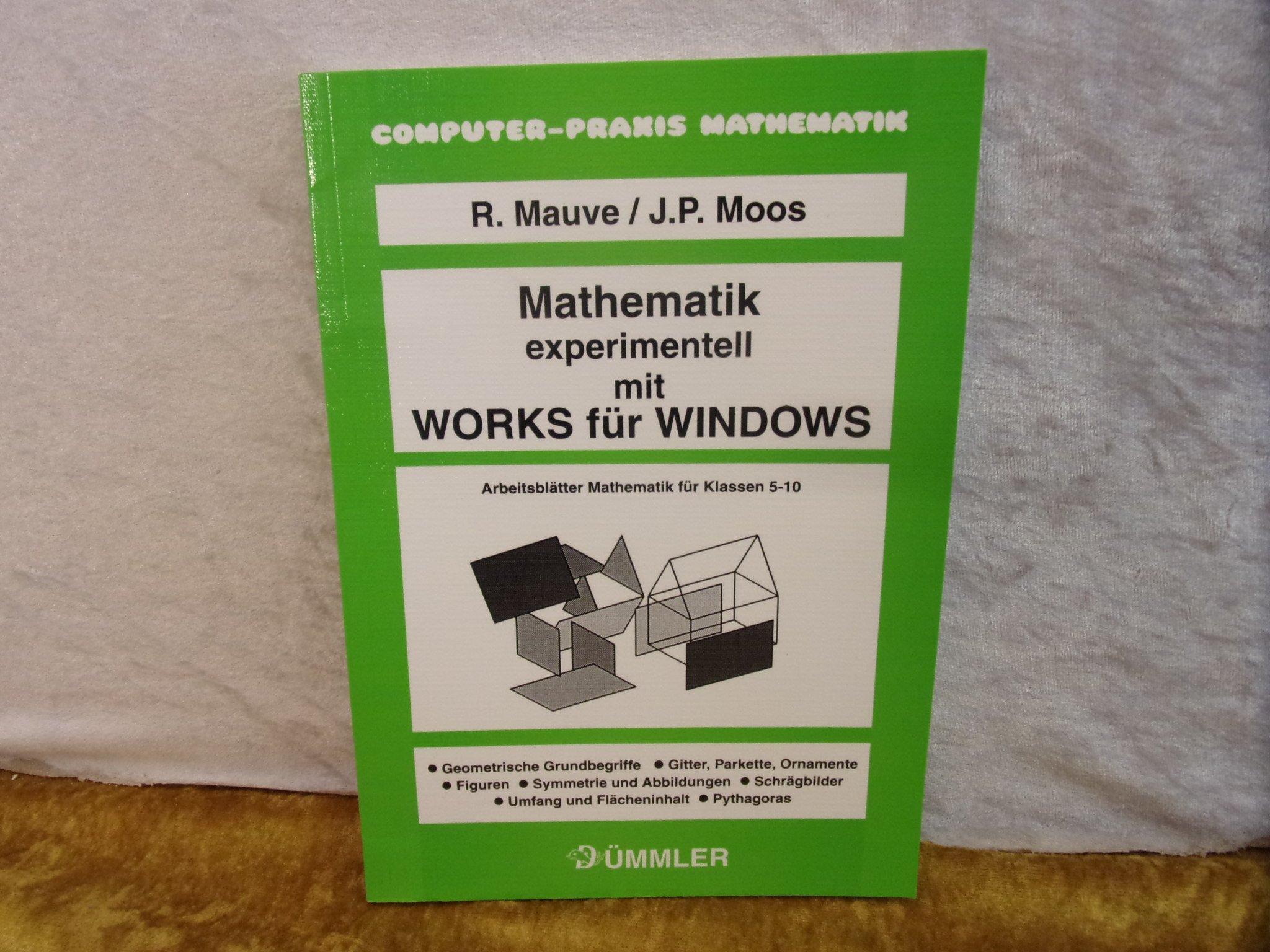 Mathematik experimentell mit Works für Windows: Amazon.de: Reinhard ...