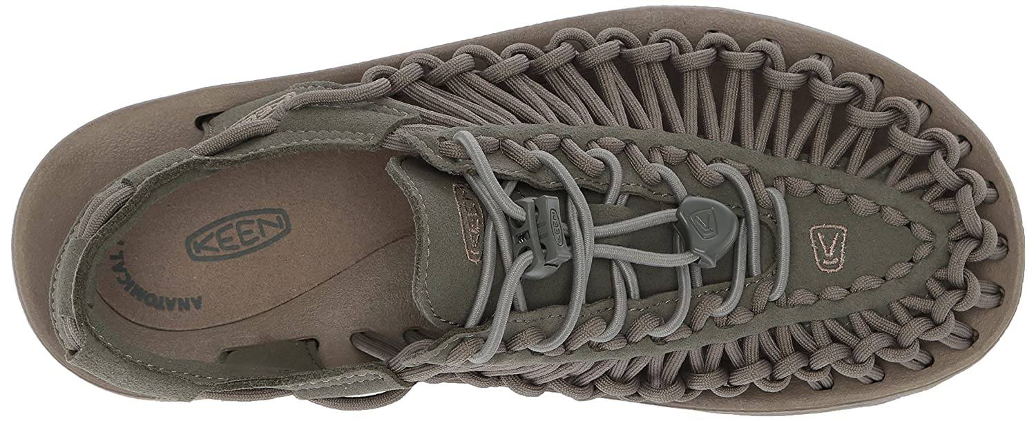 KEEN Women's Uneek-W Sandal B06ZZMZMWD 8.5 B(M) US|Dusty Olive/Brindle