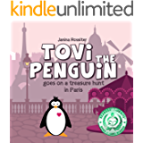 Tovi the Penguin goes on a treasure hunt in Paris