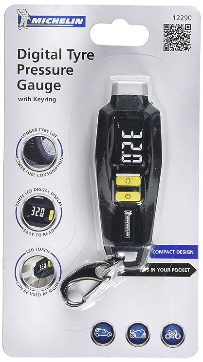 Michelin 12290B - Medidor Digital de presión de neumáticos con Llavero: Amazon.es: Coche y moto