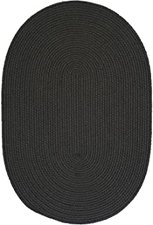 product image for Colonial Mills Floor Decorative Boca Raton Gray Area Rug Oval 7'x9'