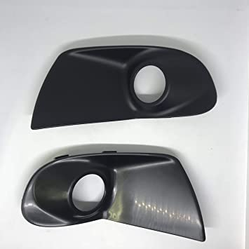 Pair Set of 2 Fog Light Covers New Right-and-Left LH /& RH 5212806140 5212706140
