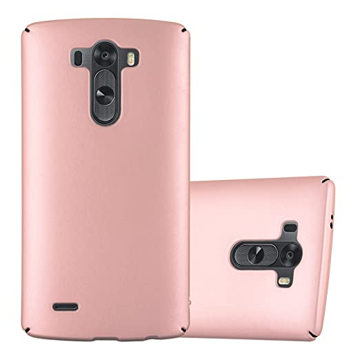 3 opinioni per Cadorabo- TPU Hard Cover 'Metallic' per > LG G3 < Super Sottile con Colori