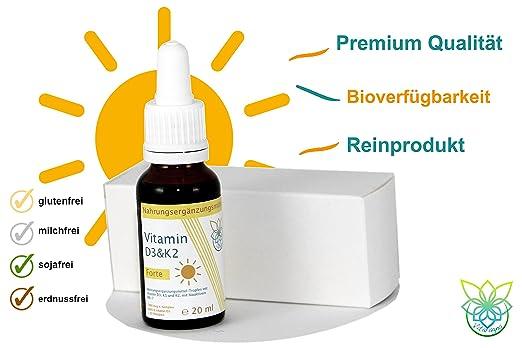 VITARAGNA Vitamin-D und Vitamin-K Forte D3K2 Tropfen flüssig