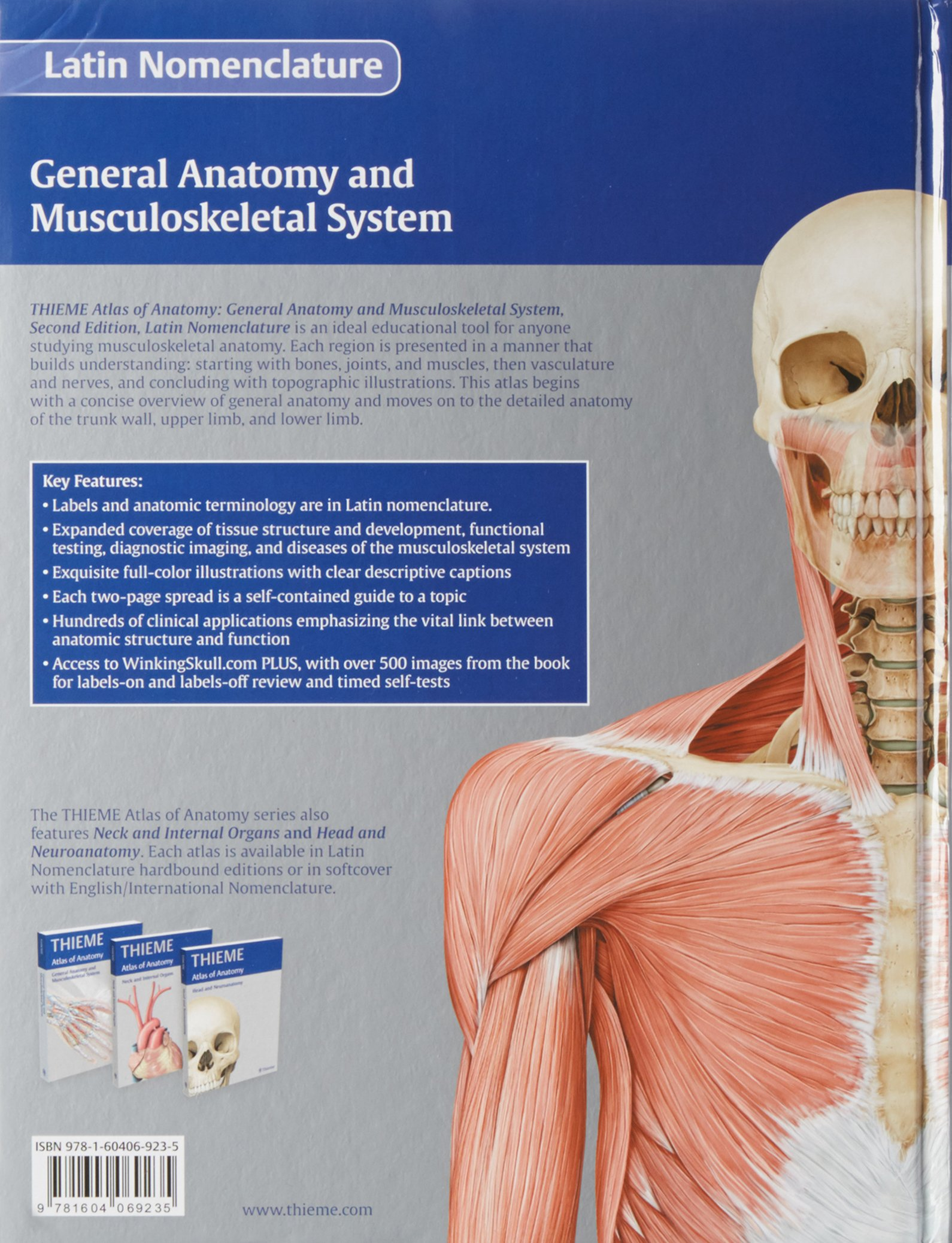 Atlas of Anatomy, 2e, LATIN, 3-Volume Set: Michael Schuenke ...