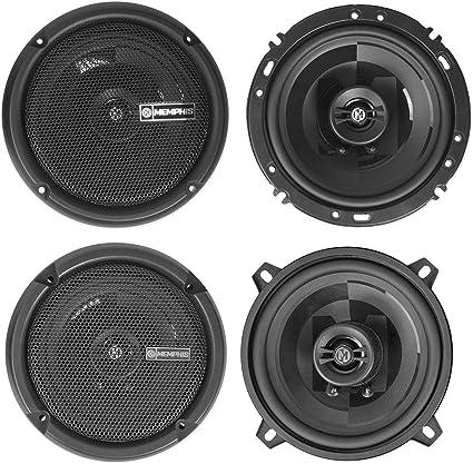 "6.5/"" PAIR BRAND NEW MEMPHIS 6.5 INCH 2-WAY CAR AUDIO SPEAKERS"