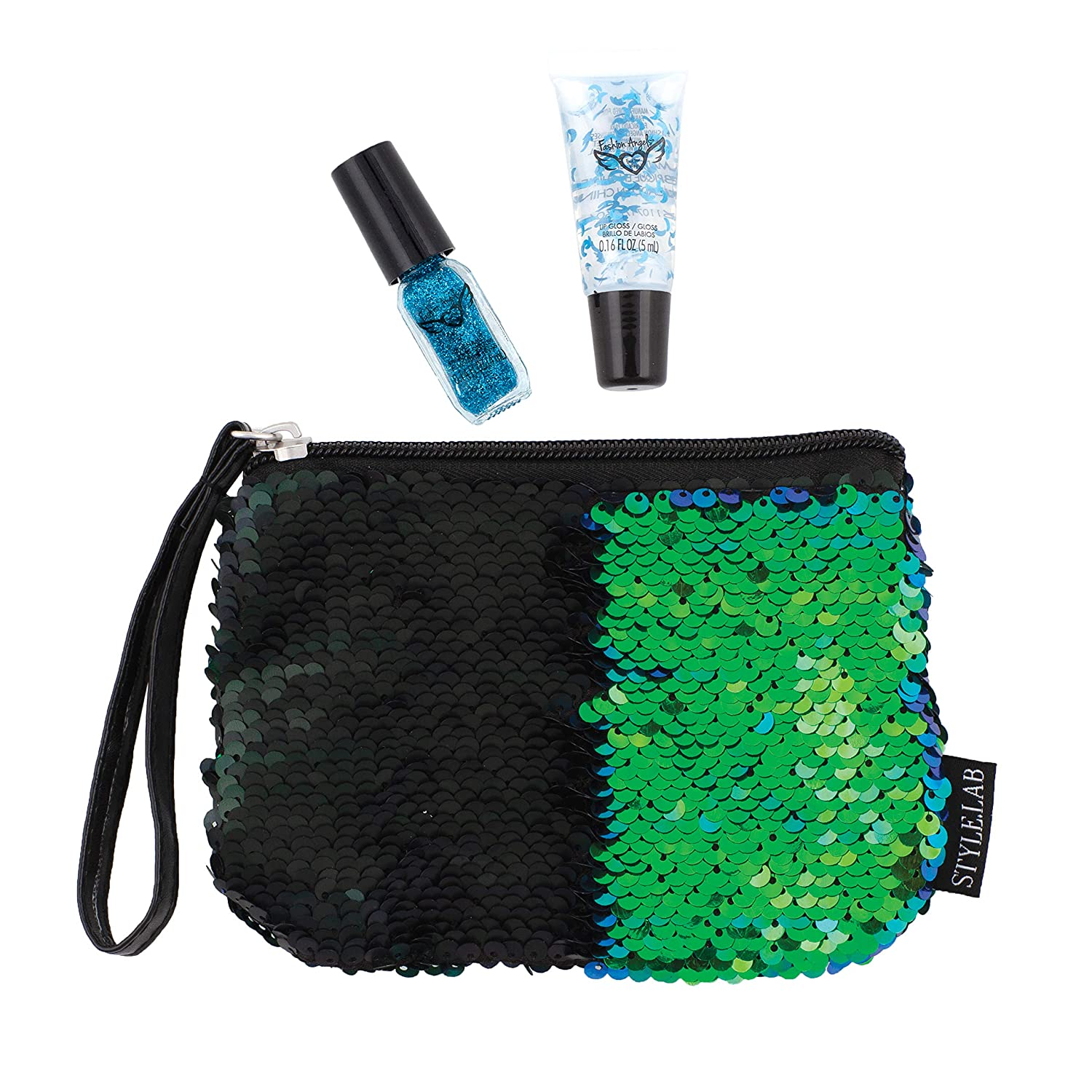 Style.Lab By Fashion Angels Magic Sequin Beauty Wristlet