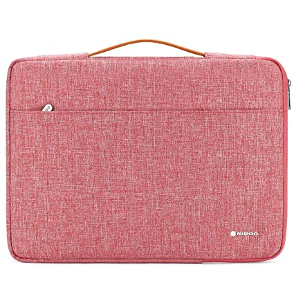 NIDOO 12,5 inch Laptop Sleeve Case Notebook Bag Protective Carrying Handbag Cover for 12.9