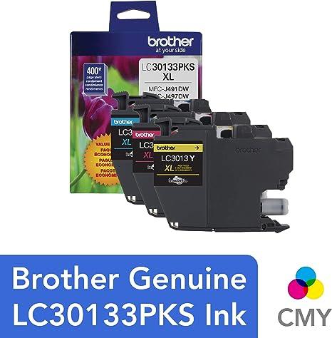 Amazon.com: Brother LC30133PKS - Cartuchos de tinta de color ...