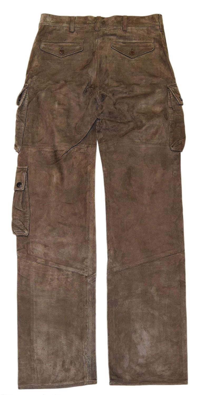 reliable reputation super service bright n colour Polo Ralph Lauren Purple Label Mens Pants Brown Suede ...