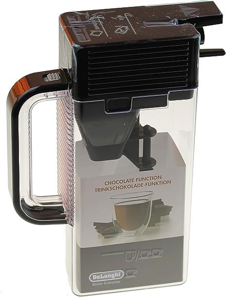 DeLonghi 7313223741 – Depósito de leche, espumador de leche, cacao Depósito para cafeteras automáticas: Amazon.es: Hogar
