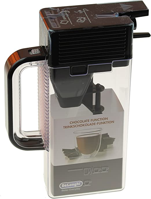DeLonghi 7313223741 – Depósito de leche, espumador de leche, cacao ...