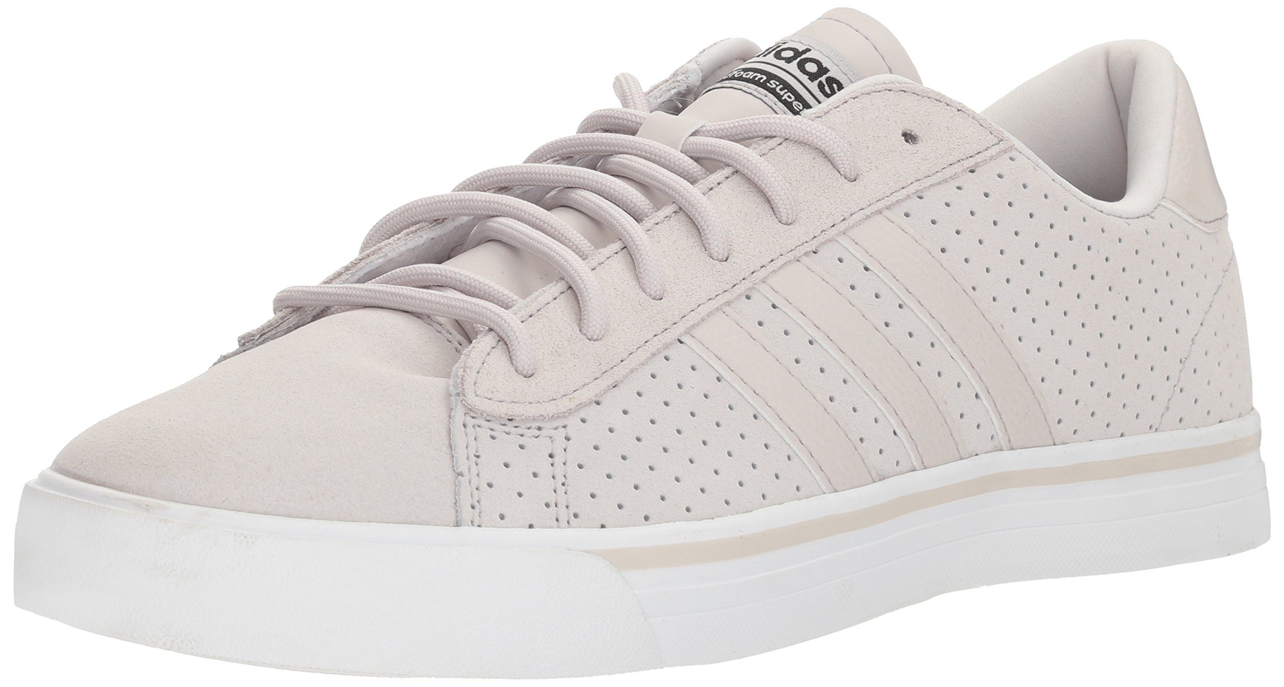 detailed look dfd43 36be3 Galleon - Adidas Neo Mens CF Super Daily Sneaker,Chalk PearlChalk  Pearlcore Black,14 M US