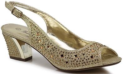 8cd984cbc9 Enzo Romeo Lime01 Womens Open Toe Low Heel Wedding Rhinestone Wedge Sandal  Shoes (5.5,