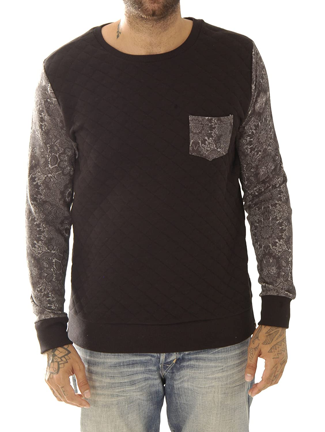 Kultivate Herren Sweat-Shirt Sw Mandala Usp1501041004-01