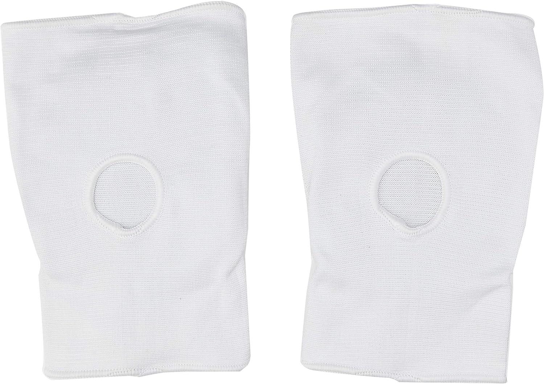 Blitz Sport Elastic Knee Pads Medium White