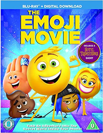 The Emoji Movie Blu Ray 2017 Region Free Amazon Co Uk William J Caparella Anthony Leondis Michelle Raimo Anthony Leondis Eric Siegel Mike White Dvd Blu Ray