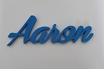 Amazon baby name plaques custom door signs aaron nursery baby name plaques custom door signs aaron nursery decors personalised gifts negle Images