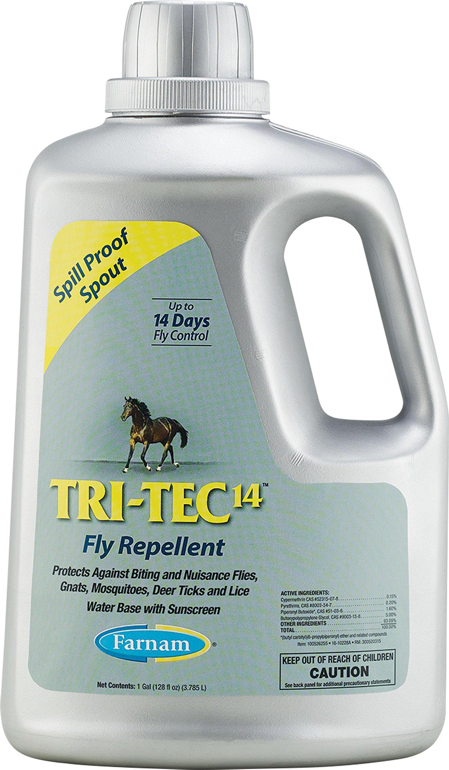 Tri-tec 14 Fly Repellent Refill For Horses