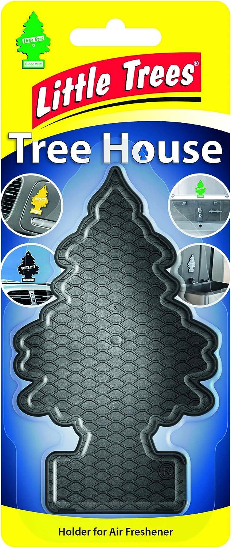 Wunder Baum 9957 Air Freshener Holder Tree House Black Auto