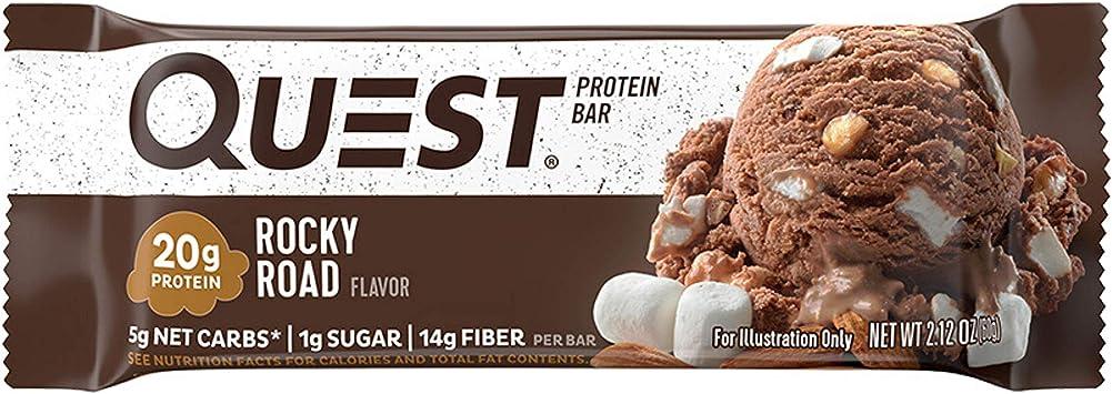 Quest Nutrition - Camino rocoso de búsqueda barra de proteína - 12 Bares