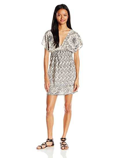 0d4de902c4e Angie Women s V-Neck Kimono Sleeve Dress at Amazon Women s Clothing store