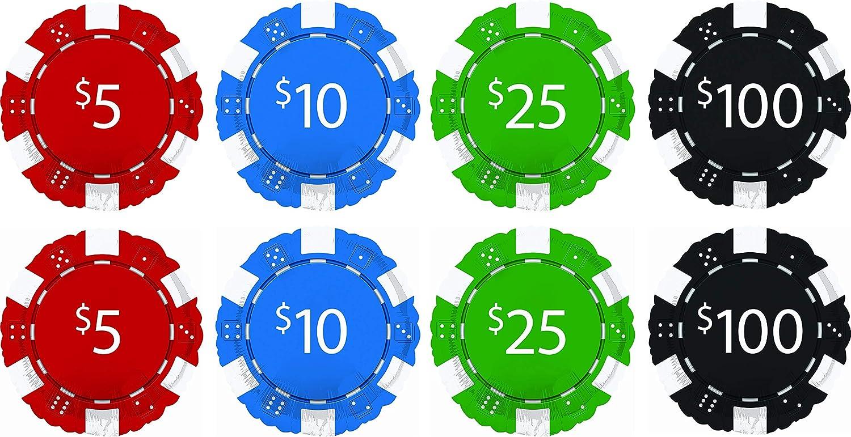 Casino Poker Night 18 Foil Balloon Home Garden Universitasfundacion Party Supplies