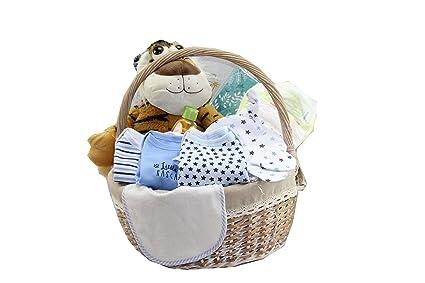 DonRegaloWeb - Canastilla - Cesta de regalo para niño recién nacido ...