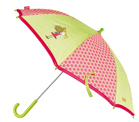 Sigikid 24448 - Paraguas Infantil, Color Verde/Rosa, Verde/Rosa (Rosa