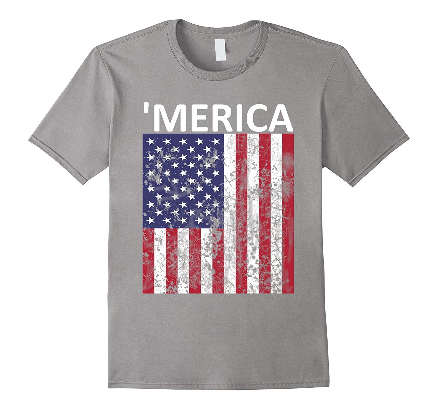 'Merica 4th of July Tshirt | American Flag Tshirts-TH