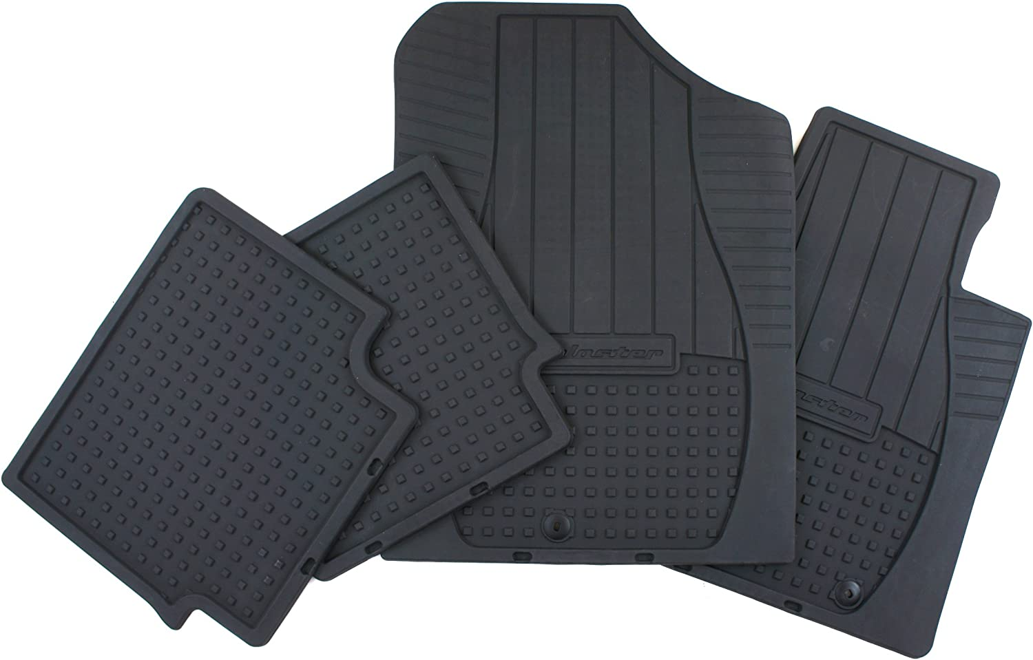 Perfect Fit Black Carpet Car Mats for Hyundai Veloster 11 />