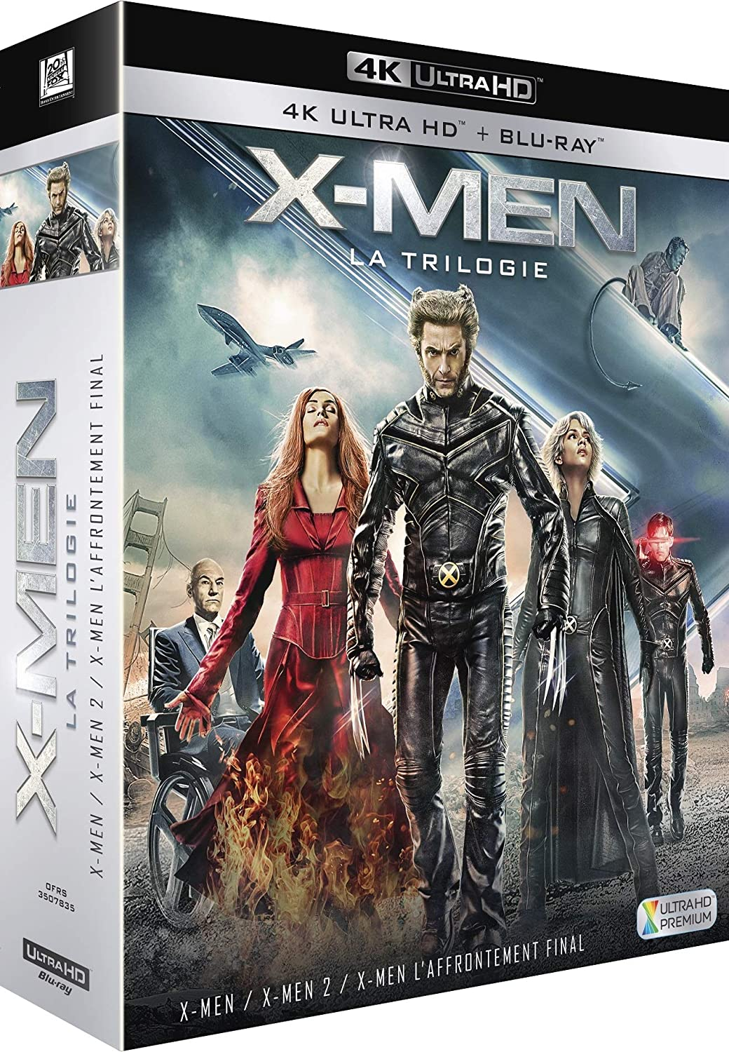X-Men - La Trilogie : X-Men + X-Men 2 + X-Men : Laffrontement final Francia Blu-ray: Amazon.es: Patrick Stewart, Hugh Jackman, Ian McKellen, Halle Berry, Famke Janssen, James Marsden, Rebecca Romijn, Anna