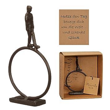 Amazon De Preis Am Stiel Skulptur Bewegen Um Die Welt