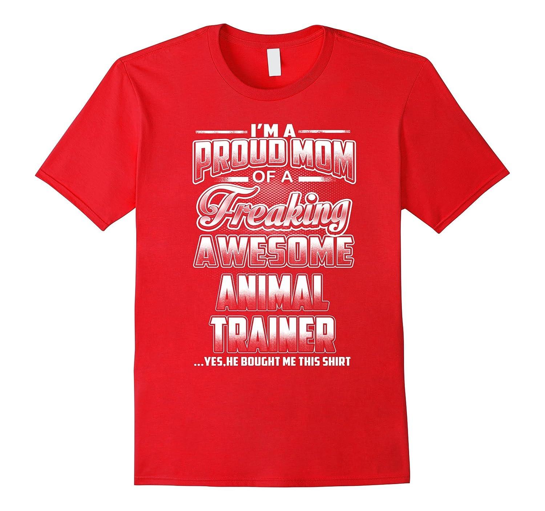 Animal Trainer Mom T-shirt-Art