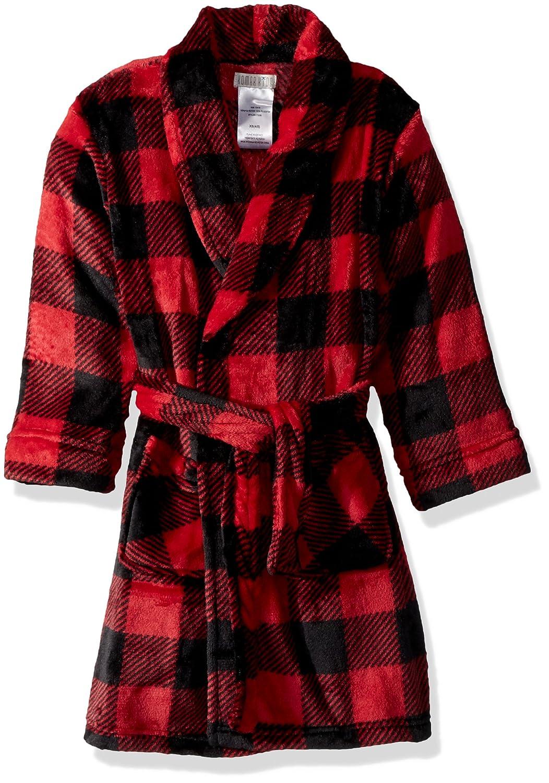 Komar Kids Boys' Big Printed Fleece Robe, Camo