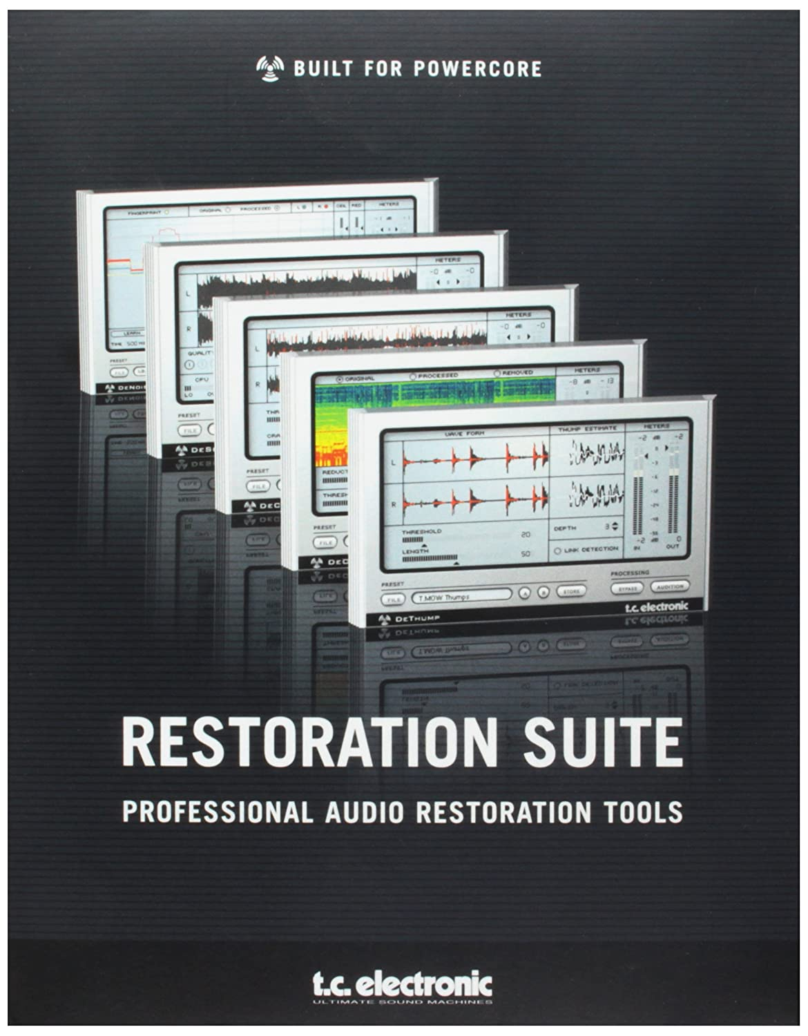 TC Electronic Restoration Suite 2 0 Includes DeSratcher