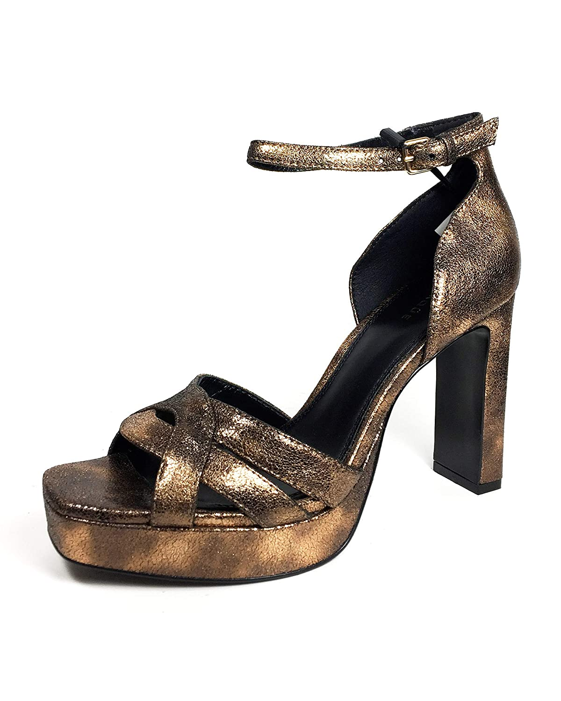 d09b207018ae7 Uterque Women's Leather Platform Sandals 4008/051 Yellow: Amazon.co ...