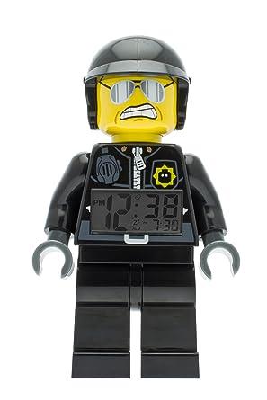 Amazon.com: LEGO Movie Bad Cop Kids Minifigure Light Up Alarm ...