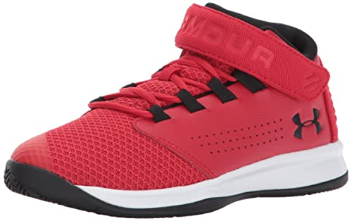 Under Armour Zapatillas de baloncesto Get B Zee para preescolar de Under Armour Boys, rojo / blanco, 3 M US Little Kid: Amazon.es: Zapatos y complementos