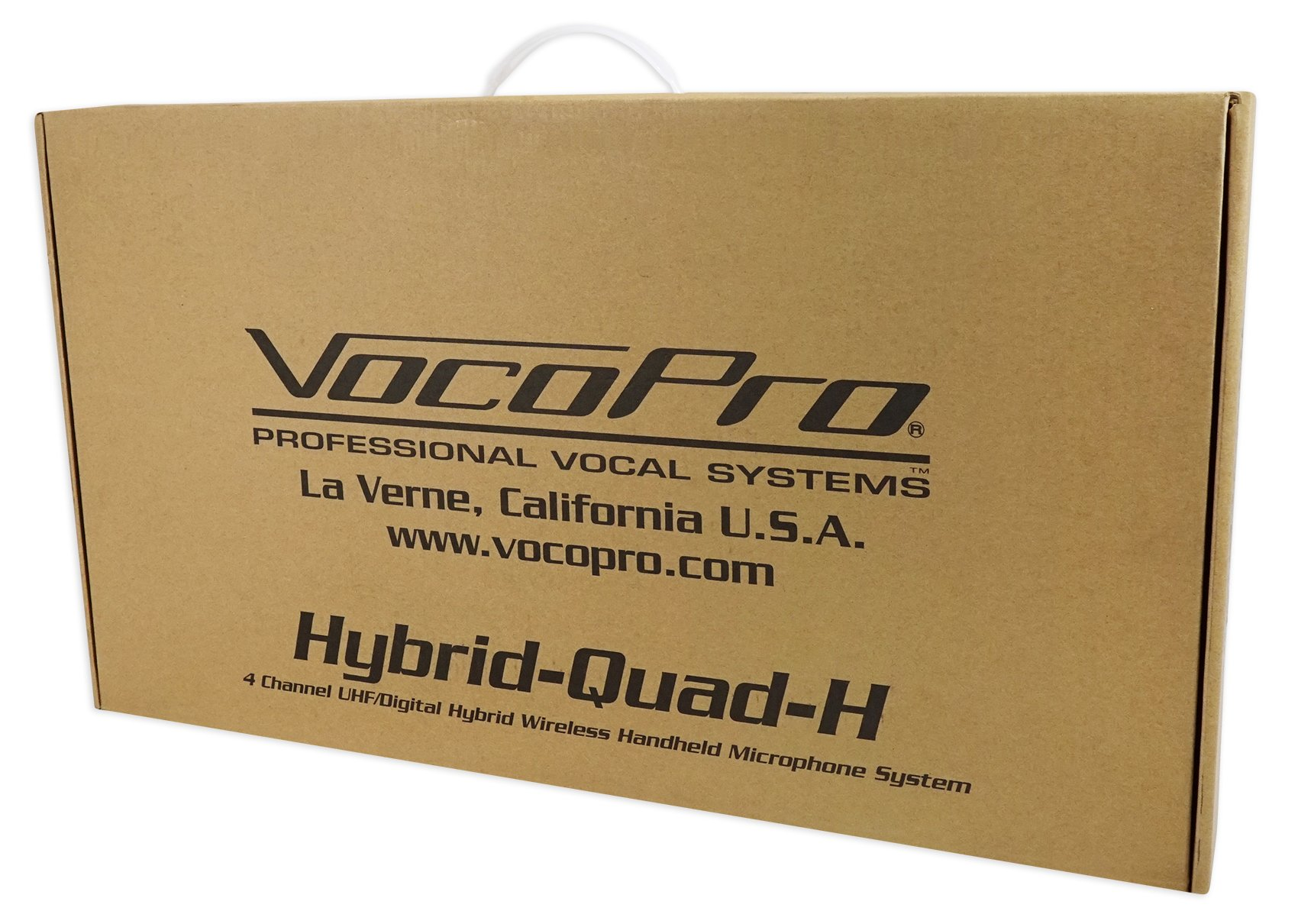 VOCOPRO Four-Channel UHF Digital Wireless Handheld Microphone Mics System-H2