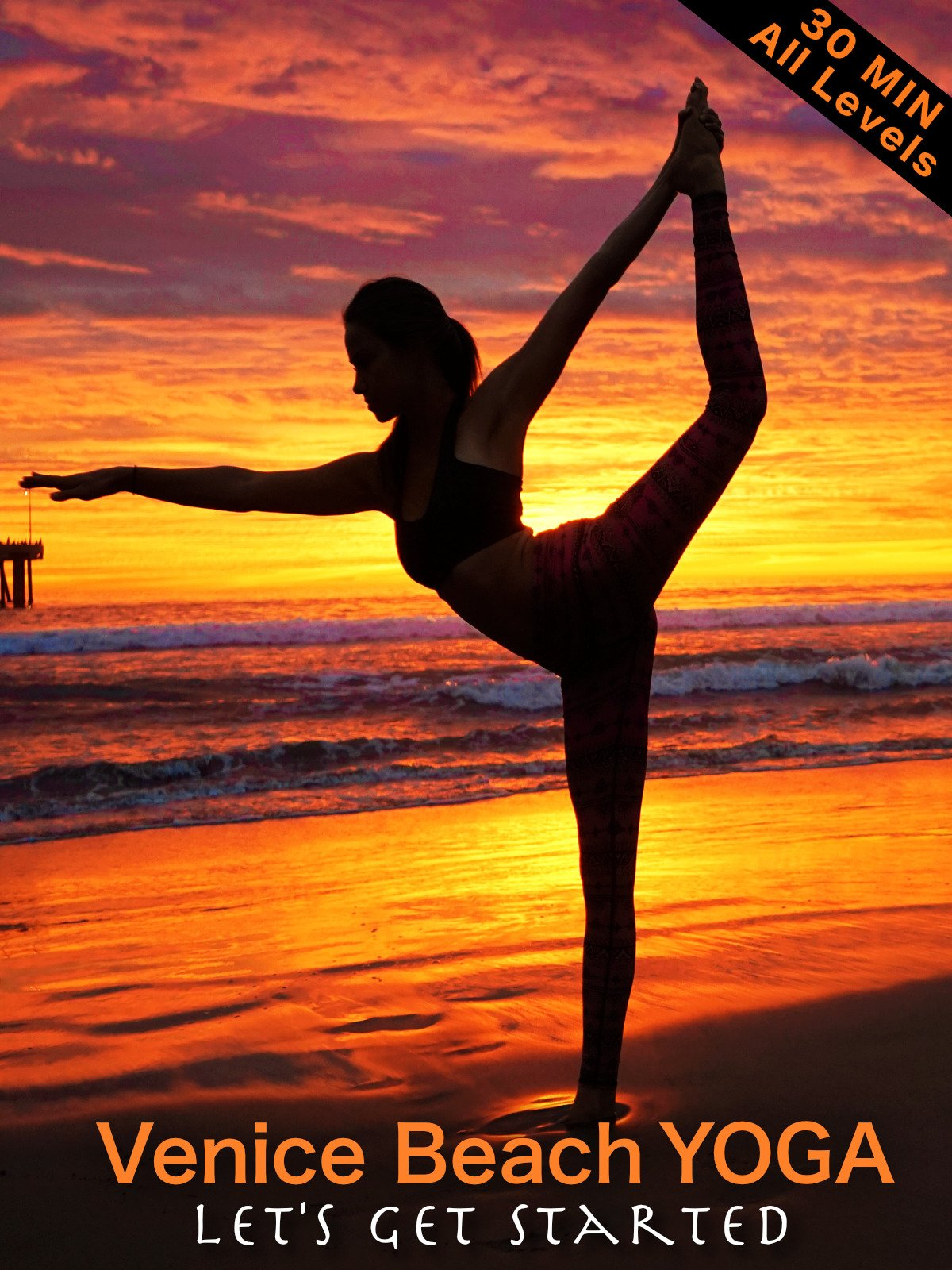 Watch Venice Beach Yoga - Lets Get Started - All Levels ...