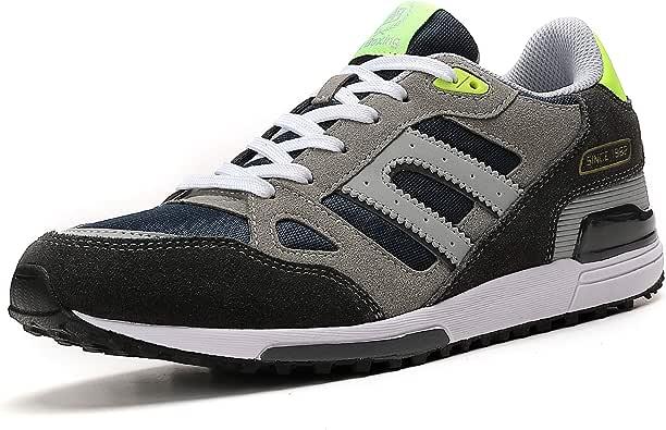AX BOXING Zapatillas Hombres Mujer Deporte Running Sneakers Zapatos para Correr Gimnasio Deportivas Padel Transpirables Casual 40-46: Amazon.es: Zapatos y complementos