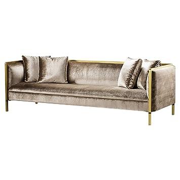 Amazon.com: Kathy Kuo Home Andrew Martin Reagan Sofá moderno ...