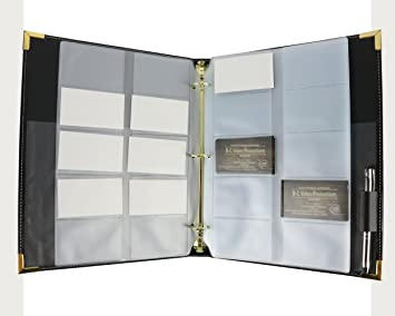 Amazon bailey business card book holder office products bailey business card book holder colourmoves