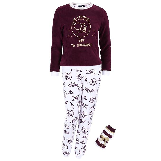 Harry Potter - Hogwarts - Pijama - para mujer - Small