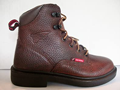 69501724d4c Amazon.com  Boys Red Wing Work Boots  Shoes