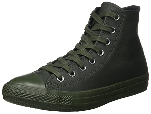 Converse CT All Star Hi Sneakers Unisex Adulto Nero Black Mono 38