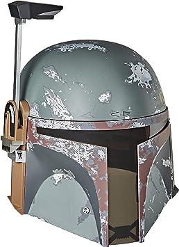 Star Wars Deluxe Mandalorien Casque CUSTOM HEAD SCULPT Hasbro Série Black