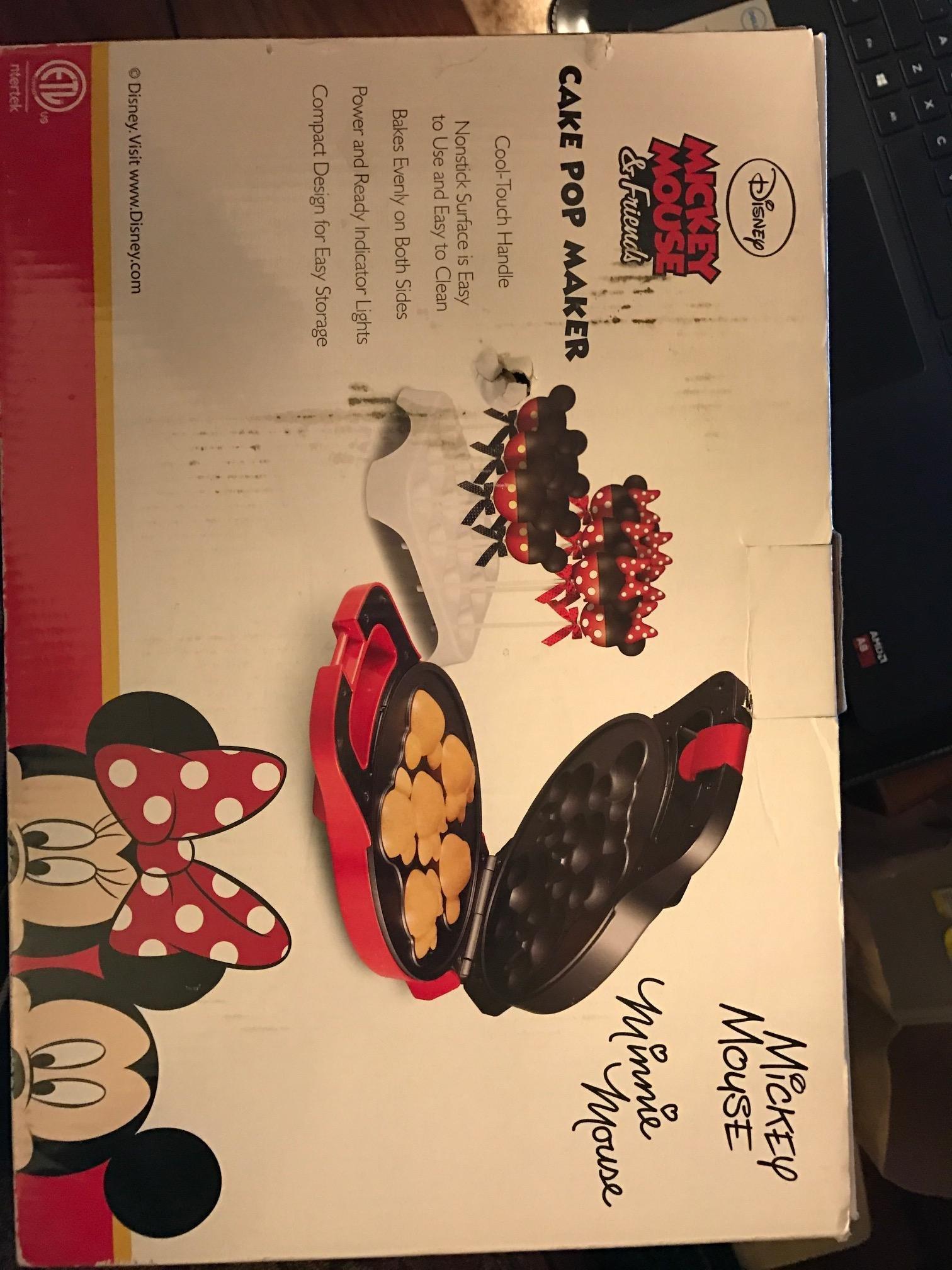 Disney Mickey Mouse & Friends Cake Pop Maker by Disney (Image #3)